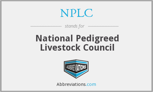 What does NPLC stand for?