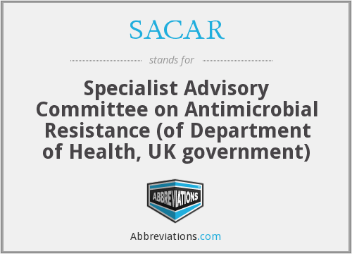 What does SACAR stand for?