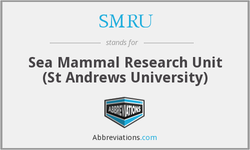 What does SMRU stand for?
