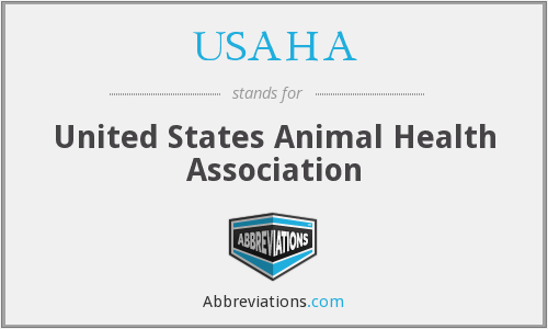 What does USAHA stand for?