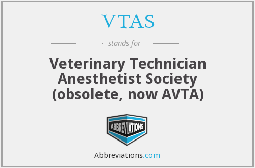What does VTAS stand for?