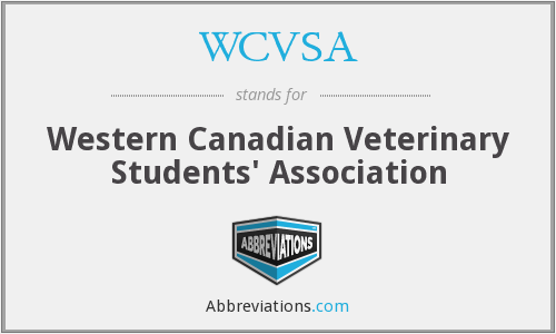 What does WCVSA stand for?
