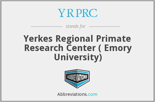 What does YRPRC stand for?