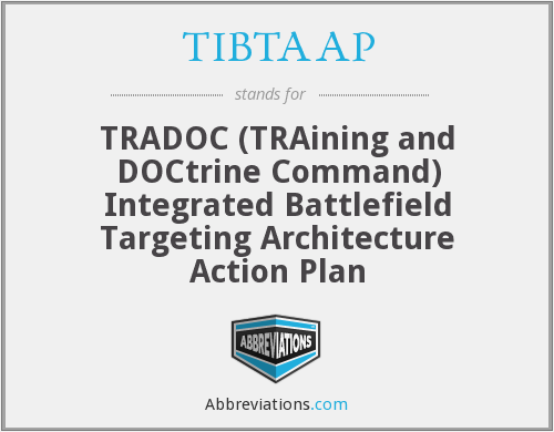 What does TIBTAAP stand for?