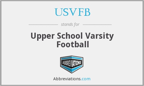 What does USVFB stand for?