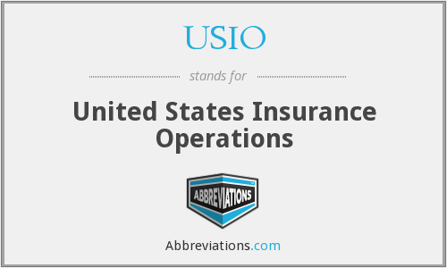 What does USIO stand for?