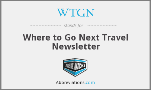 What does WTGN stand for?