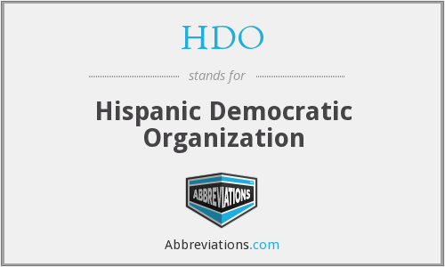 What does HDO stand for?