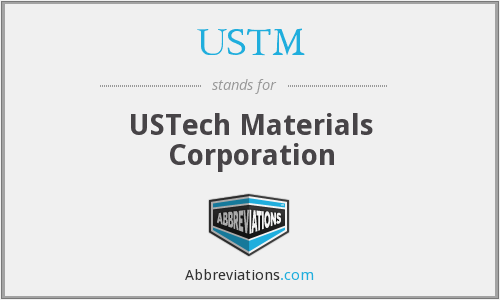 What does USTM stand for?