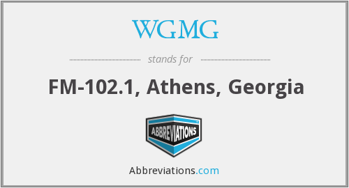 What does WGMG stand for?