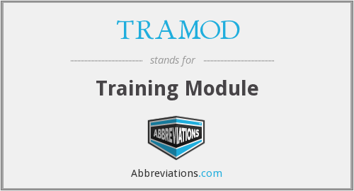 What does TRAMOD stand for?