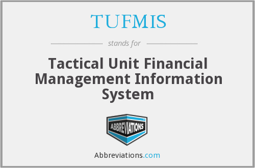 What does TUFMIS stand for?