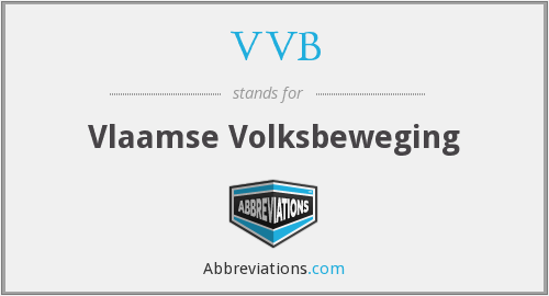 What does VVB stand for?