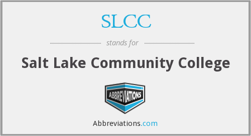What does SLCC stand for?
