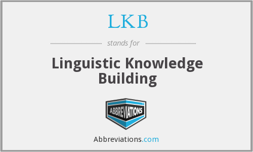 What does LKB stand for?
