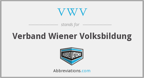 What does VWV stand for?