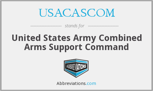What does USACASCOM stand for?