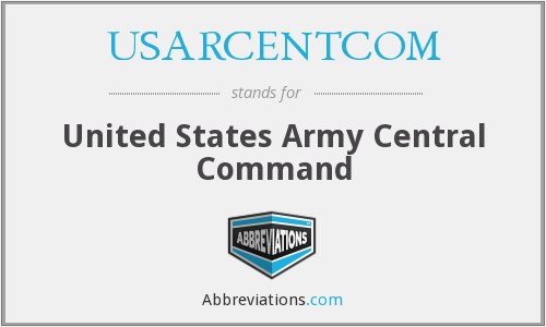 What does USARCENTCOM stand for?