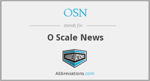 What does OSN stand for?