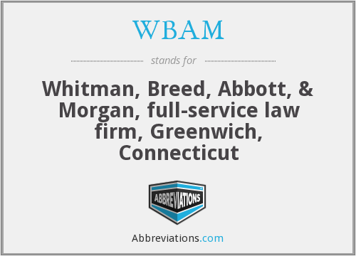 What does WBAM stand for?