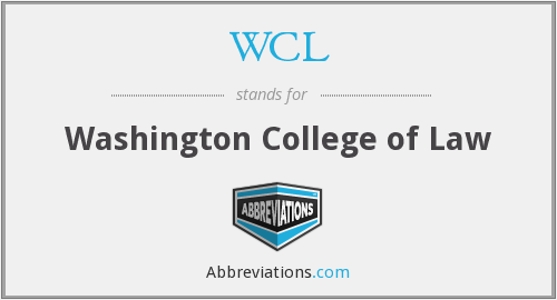 What does WCL stand for?