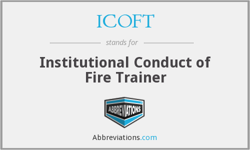 What does ICOFT stand for?