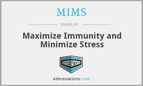 What does minimize stand for?