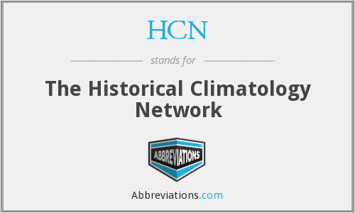 What does HCN stand for?