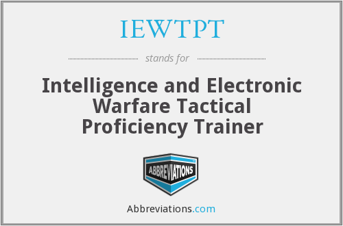 What does IEWTPT stand for?