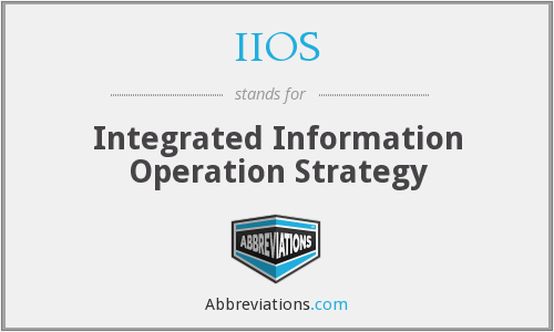 What does IIOS stand for?
