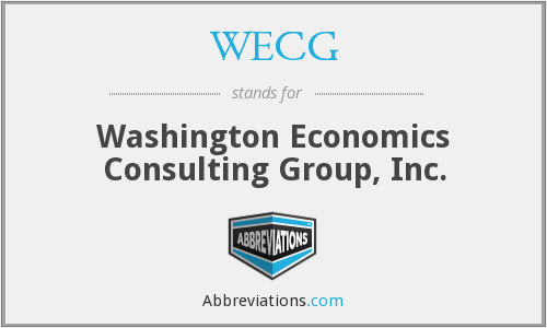 What does WECG stand for?