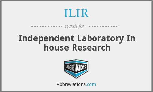 What does ILIR stand for?