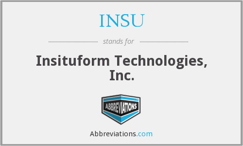 What does INSU stand for?