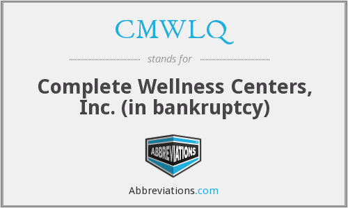 What does CMWLQ stand for?
