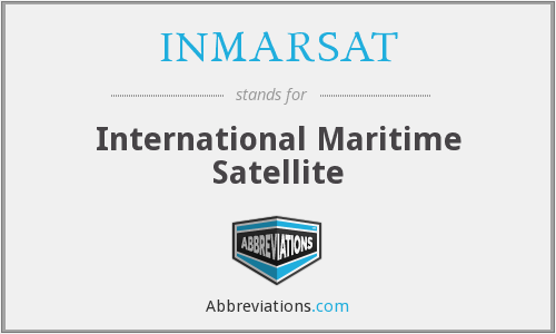 What does INMARSAT stand for?