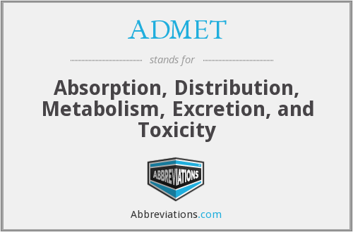 What does ADMET stand for?