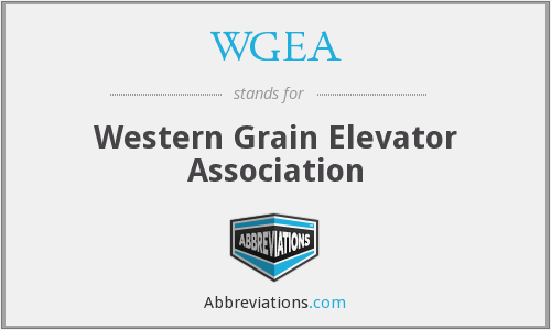 What does WGEA stand for?