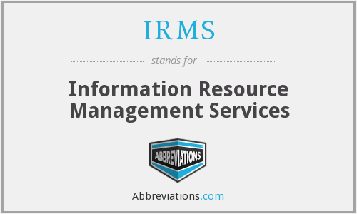 What does IRMS stand for?
