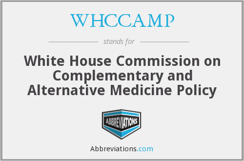 What does WHCCAMP stand for?