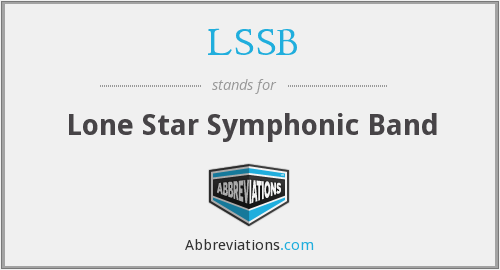 What does LSSB stand for?