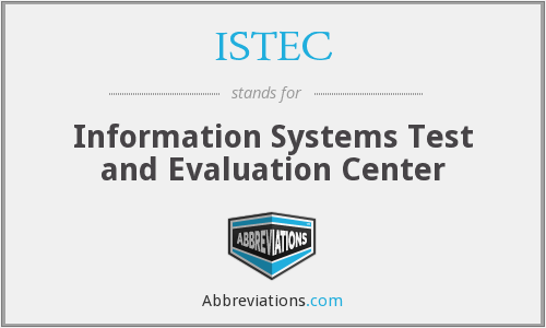 What does ISTEC stand for?