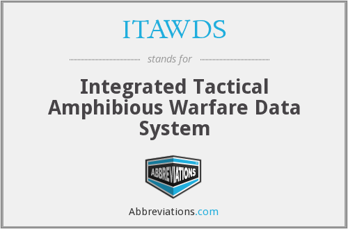 What does ITAWDS stand for?