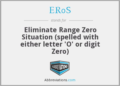 What does ER0S stand for?