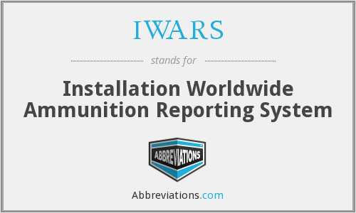 What does IWARS stand for?
