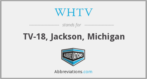What does WHTV stand for?