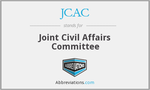 What does JCAC stand for?