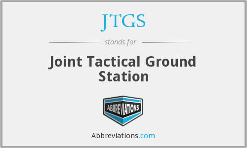 What does JTGS stand for?