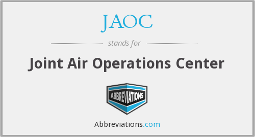 What does JAOC stand for?