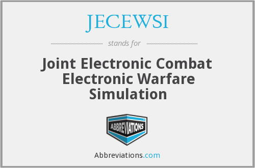 What does JECEWSI stand for?