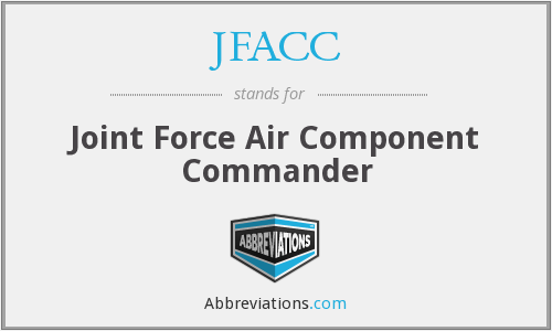 What does JFACC stand for?